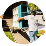 Pro mover from Easy Relocation loading shelving