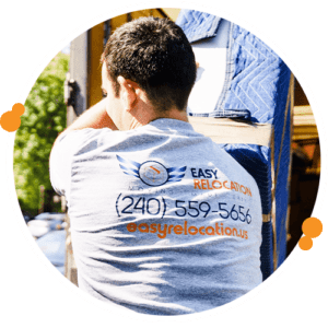 Easy Relocation moving expert showing how easy moving can be